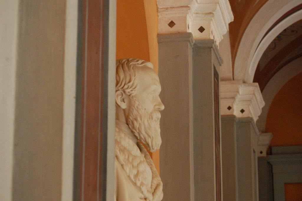 Busto marmoreo di Giovanni Antonio Sanna