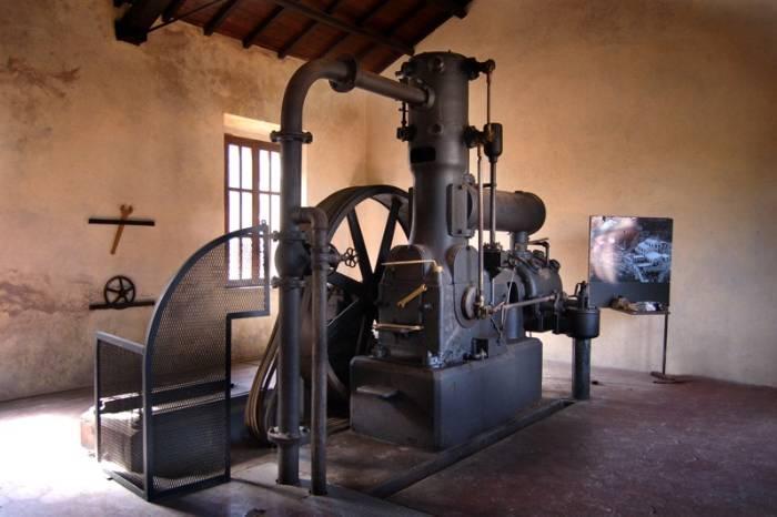 Macchina a vapore Sullivan, successivamente elettrificata