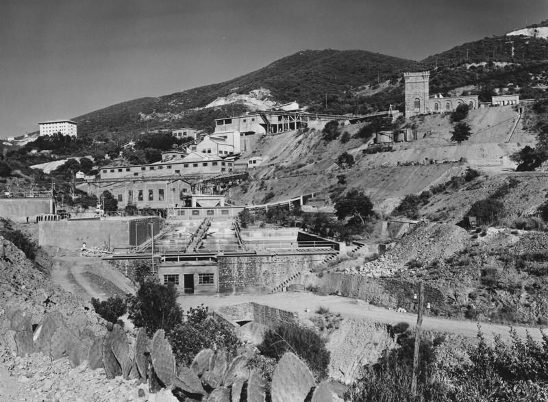 Panoramica della miniera